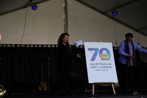 high-commissioner-and-kathy-klugman-from-dfat-launching-the-70th-anniversary-logo